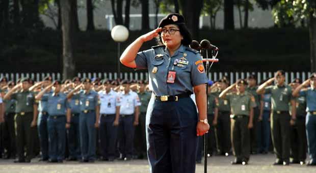 Mabes TNI Gelar Upacara Hari Ibu ke-88