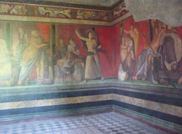Villa dei Misteri a Pompei