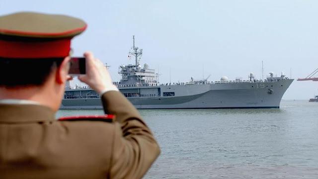 Filipina - Vietnam Gelar Latihan dan Patroli Angkatan Laut Gabungan