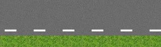لتشوير الافقي خطوط  جانب الطريق