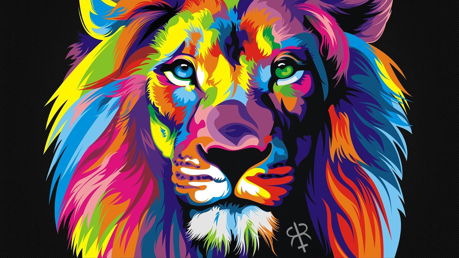 Paint Rainbow Girl Wallpapers: WTFspaghetti: Glorious Lion, Video Games, And Random