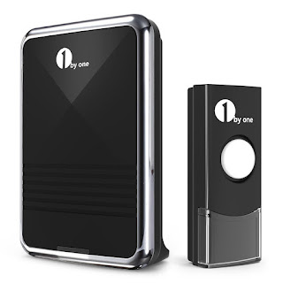 BE QUICK 2 HOURS OFFER 1byone Easy Chime Wireless Doorbell Kit, CHEAPEST price £8.48