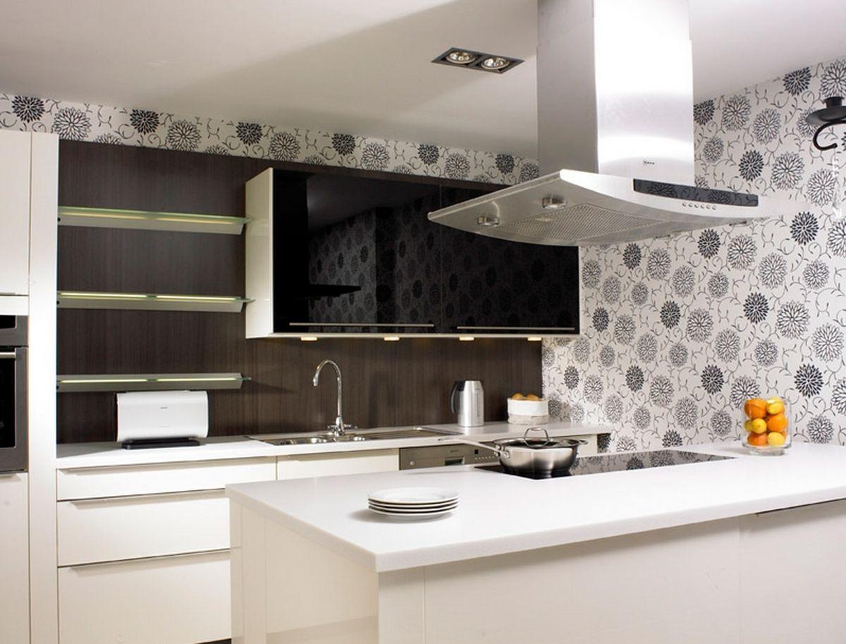 fantastic 3d wallpaper kitchen designs - decor units