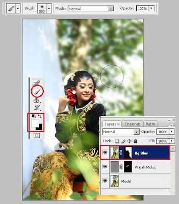 Cara Edit Foto Model Adat Jawa Keren di Photoshop