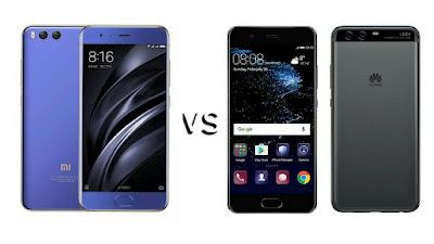 Xiaomi Mi 6 vs Huawei P10 : Price,Specs,Features comparison