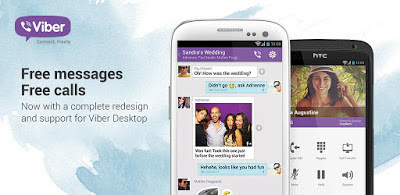Viber : Free Calls & Messages - Aplikasi chatting Android terbaru
