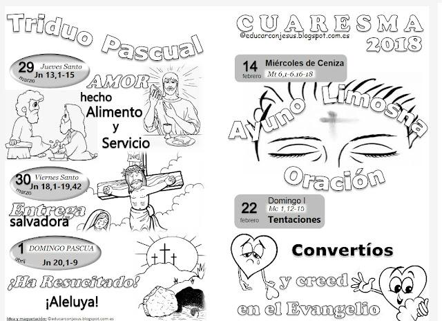 Parroquia La Inmaculada: Cuadernillo de fichas para imprimir y ...