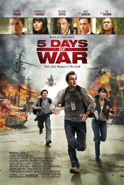 5 Days of War 720p HD Audio Latino 2011
