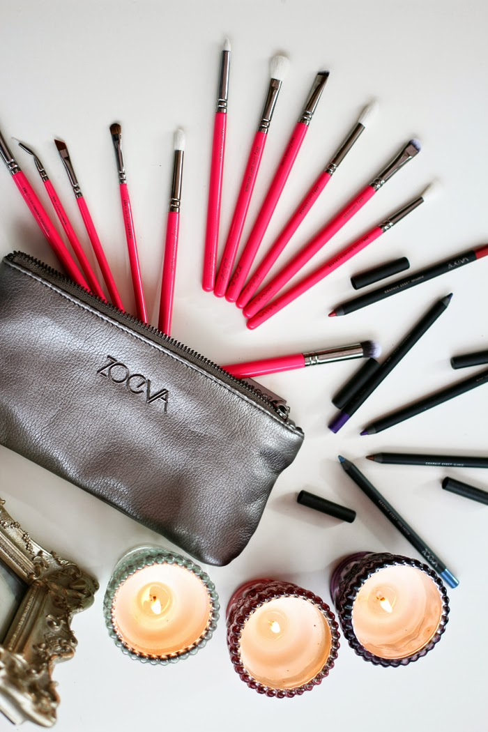 A beauty review on the Zoeva Pink Elements Complete Eye Set and their graphic eyes pencils