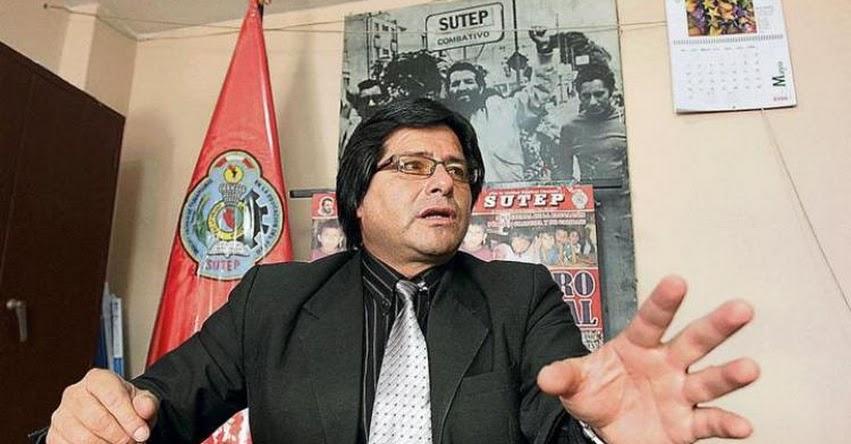 La Derrama Magisterial es una entidad privada y no puede ser intervenida, según Hamer Villena Zúñiga del SUTEP