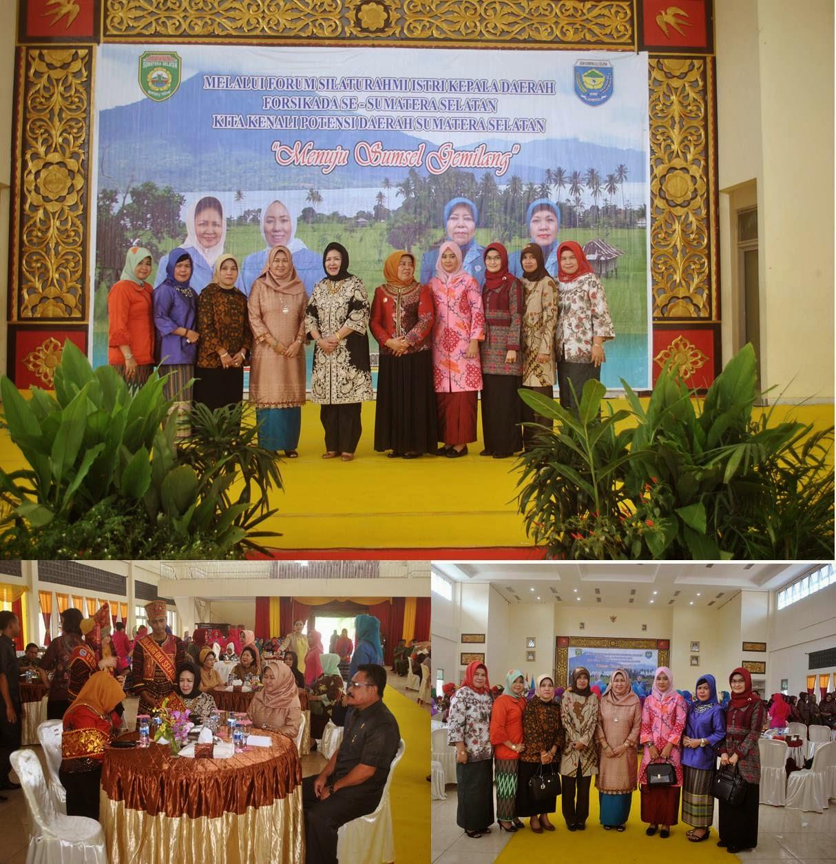 Tp Pkk Kabupaten Ogan Ilir Forum Silaturahmi Istri Kepala Daerah