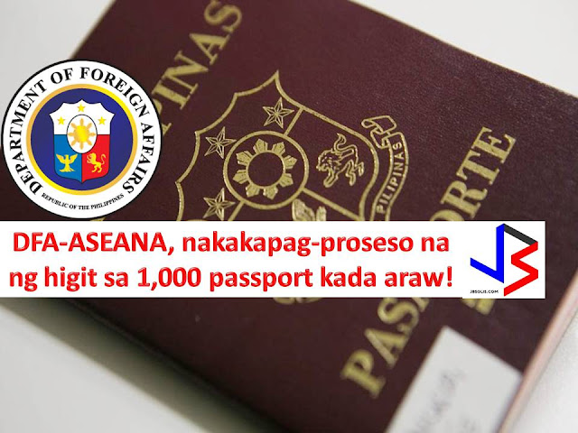 To speed up the passport application processing, the Department of Foreign Affairs (DFA) has added 15 data capture machines in its consular office at ASEANA complex.  The installation of 15 data capture machines happened, two weeks after Secretary Alan Peter Cayetano resumed office as a chief of DFA.  In his visit to DFA-ASEANA Consular office, he said that the office can now process more than 1,000 passports a day.  The machines are big help to shorten the very long queue    of passport applicants and those who are there for renewal including Overseas Filipino Workers (OFW).
