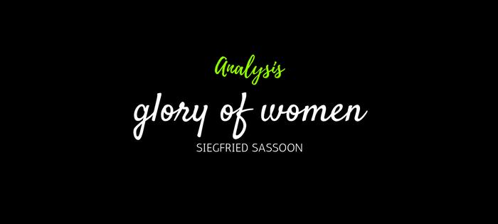 how to die siegfried sassoon analysis