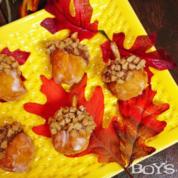 Acorn Donuts from The Joys of Boys