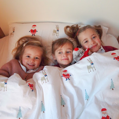 Gorgeous Christmas Duvet Set from Great Little Trading Co