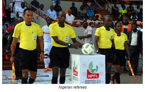 Nigerian Referees Missing Out Again As CAF Releases List Of 27 Officials For AFCON 2019