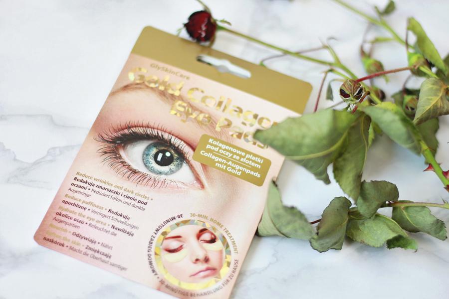 Kolagenowe płatki pod oczy ze złotem | GlySkinCare