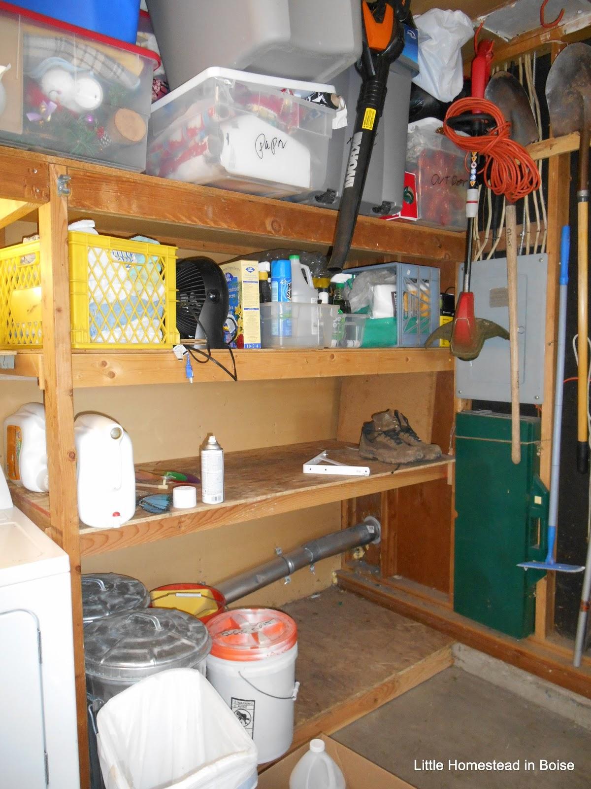 Little Homestead In Boise : DIY Shelf With Hooks Reveal, We Lost A ...