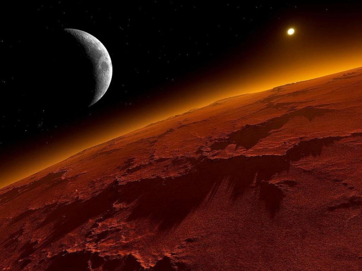 Marte Todavía Se Recupera De Una Edad De Hielo