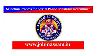 Selection Process for Assam Police