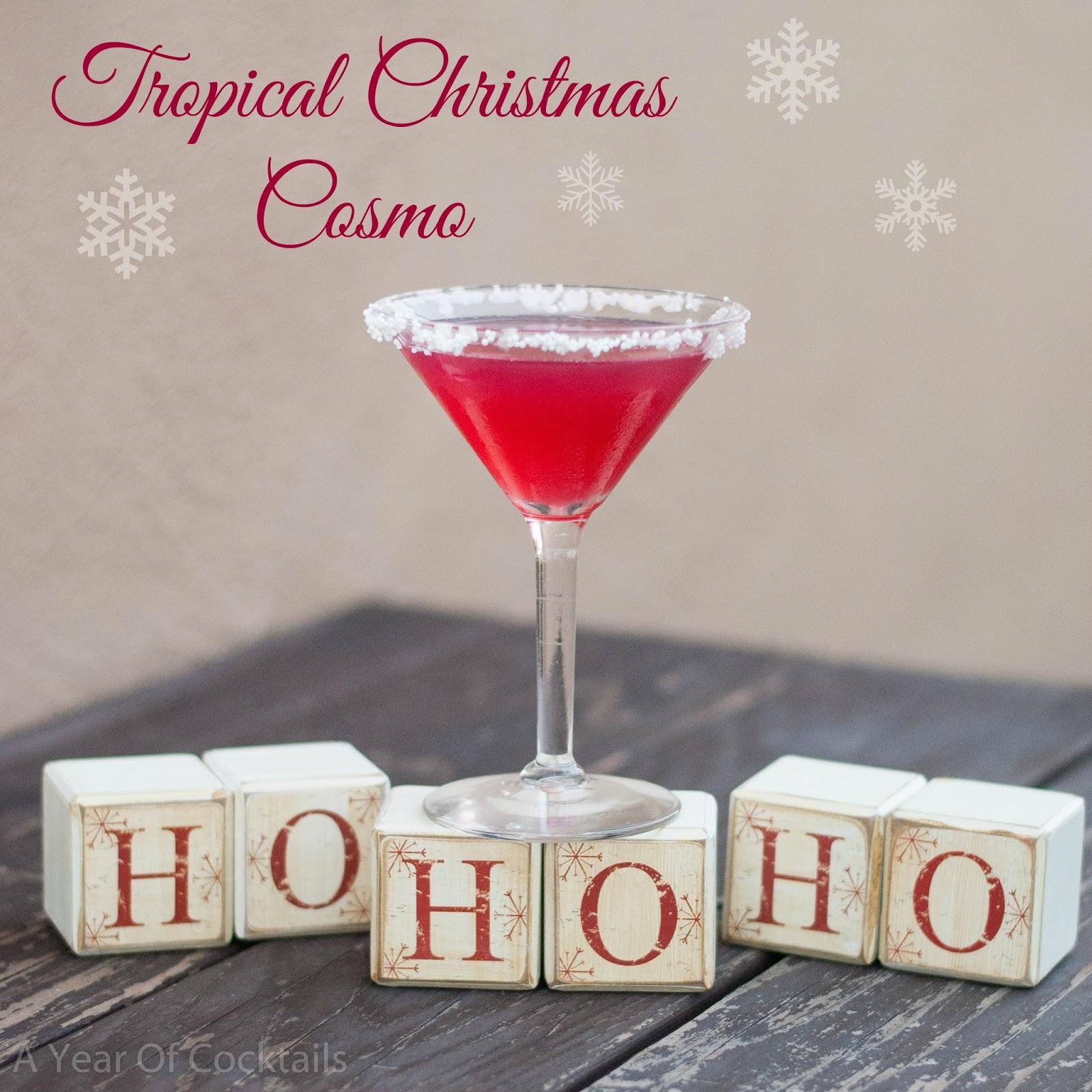 Tropical Christmas Cosmo