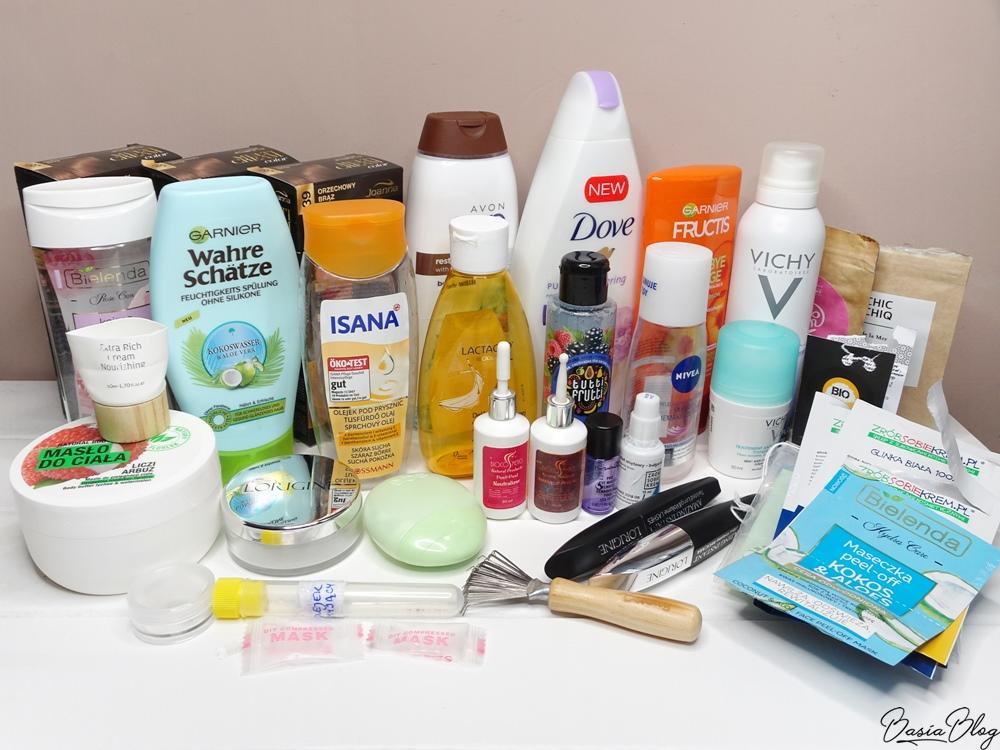 duże denko kosmetyczne, projekt denko, zużycia kosmetyczne, minirecenzje, blog