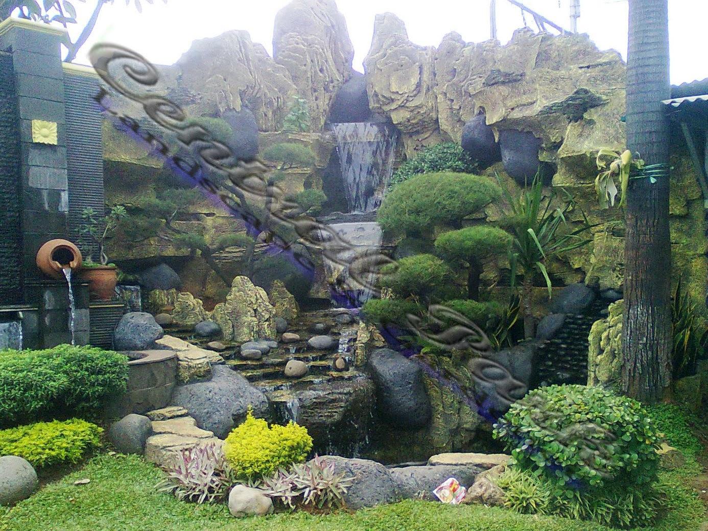 Tukang Taman Batu Alam Jual Tanaman Hias Bonsai Rumput