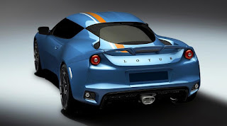 Lotus Evora 400 Exclusive Edition (2016) Rear Side