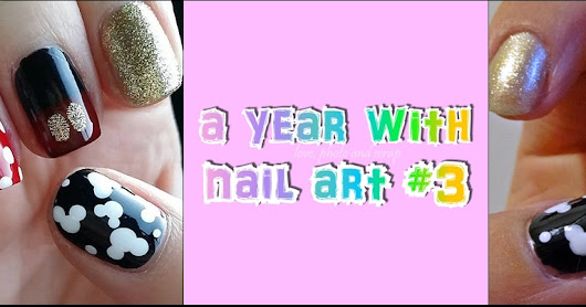 a year with nail art #3 - ottobre