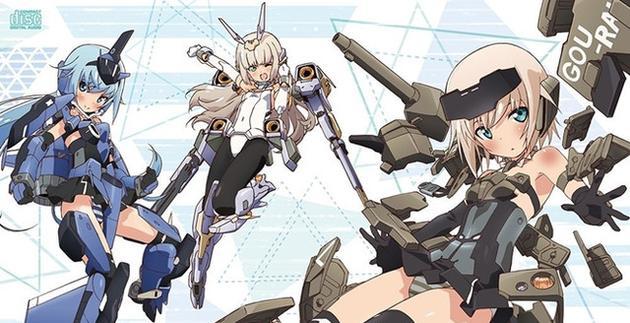 Film Anime Frame Arms Girl Akan Tayang 29 Juni Mendatang