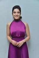 Mehreen Kaur Pirzada Hot Pic in Purple Dress