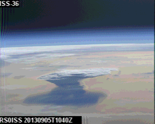 ARISS-SSTV images: September 2013