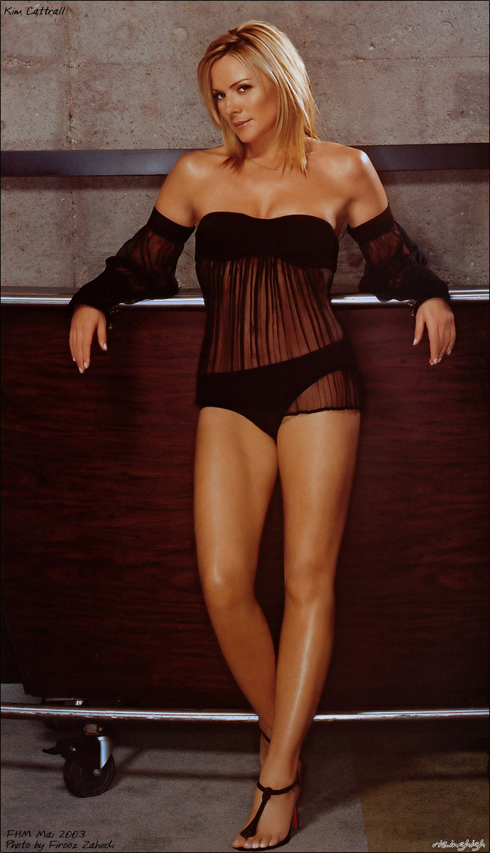 Kim Cattrall sexy Bild