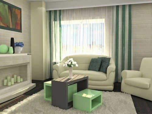 How to choose curtains for living room, style, fabrics and