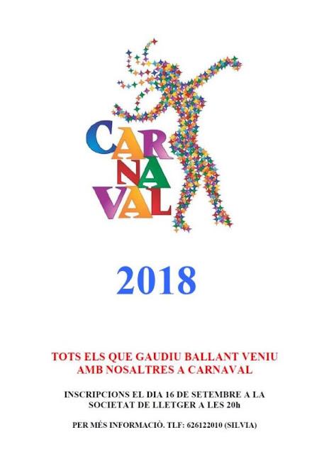 Esguard de Dona - Colla Carnaval 2018 Lletger