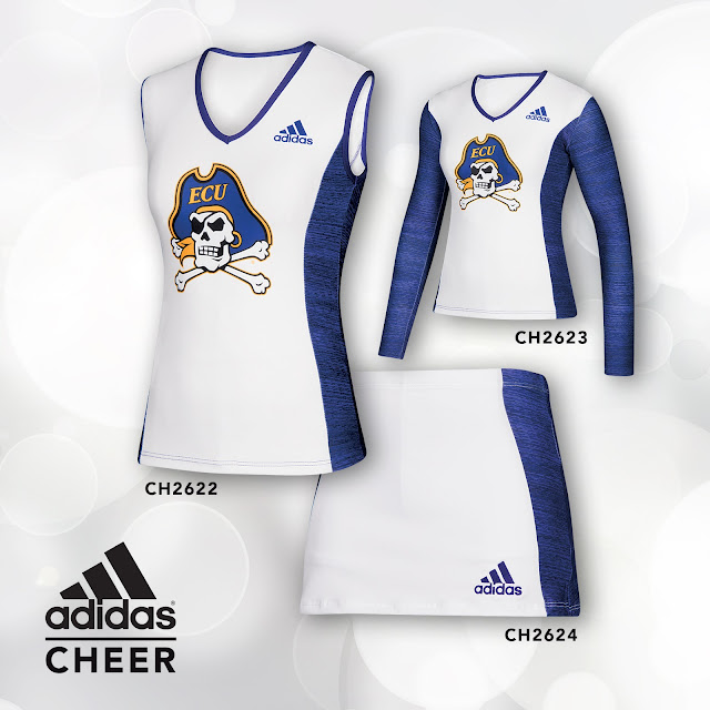 adidas cheer uniform style# CH2622 and style# CH2623