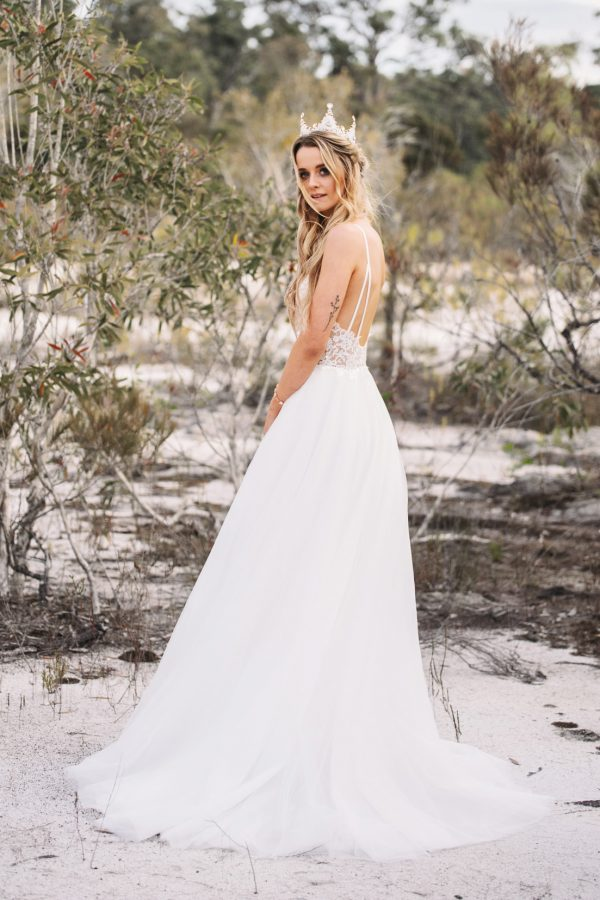 ELIZABETH GOWN BRIDAL WEAR FASHION AUSTRALIAN DESIGNER BRISBANE
