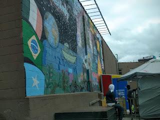 Near Somali Street in Minneapolis' West Bank neighborhood