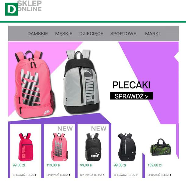 1dc9cefb250cf Sieć sklepów obuwniczych Deichmann wprowadziła do swojej oferty nowe modele  markowych plecaków i toreb. Wśród nich znajdziecie plecaki szkolne i  turystyczne ...