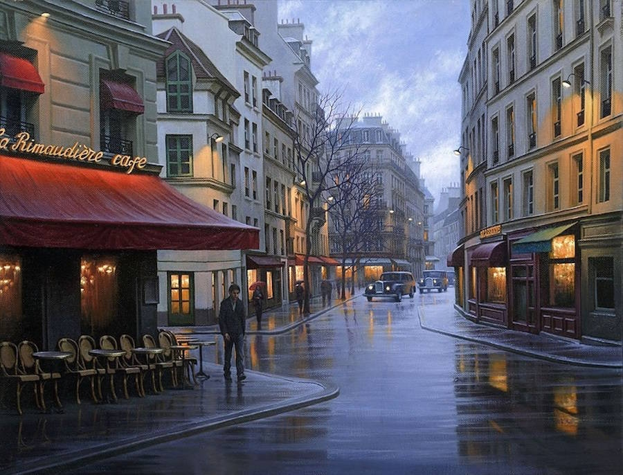 16-Alexey-Butyrsky-Architecture-in-Paintings-of-Cityscapes-at-Night-www-designstack-co