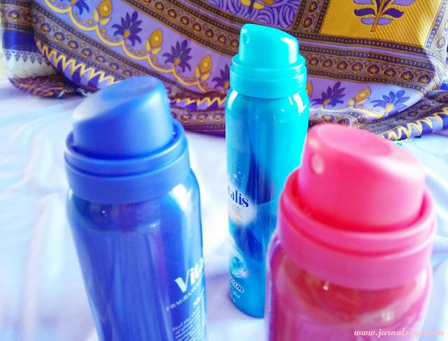 glamorous admiration vitalis aerosol parfum