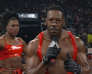WCW Souled Out 2000 - Booker T (w/ Midnight) faced Stevie Ray