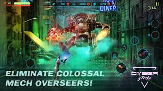 Cyber Strike - Infinite Runner v1.1 Mod