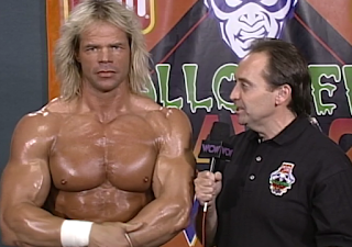 WCW HALLOWEEN HAVOC 96 REVIEW: Lex Luger was ready to face Arn Anderson