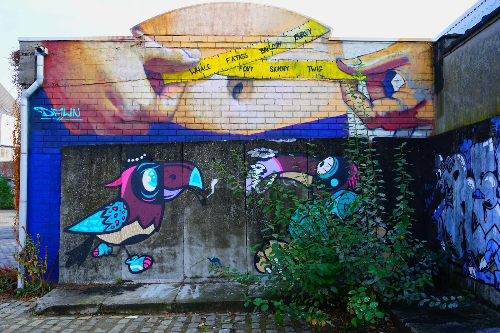 Le Chameau Bleu - Gent Glas - Street art 4