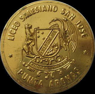 Medall Liceo Salesianos San Jose Punta Arenas