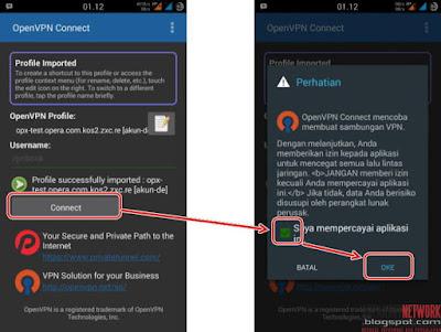 Cara Internetan 100% Gratis Di Android