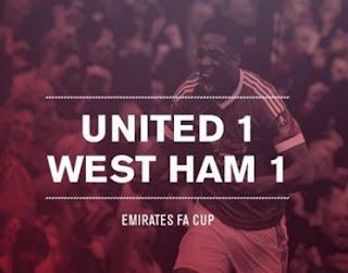 MU vs West Ham Imbang 1-1, Van Gaal Mengaku Senang