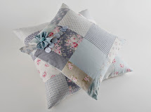 Sew Debbie Shore Patchwork Cushion Cover Project