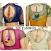 These stylish blouse designs will fit in your beautiful four moons.